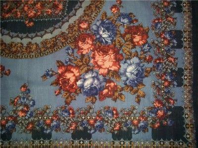 Амалия ((Елена Фаворитова), шерсть 125х125, шёлковая бахрома