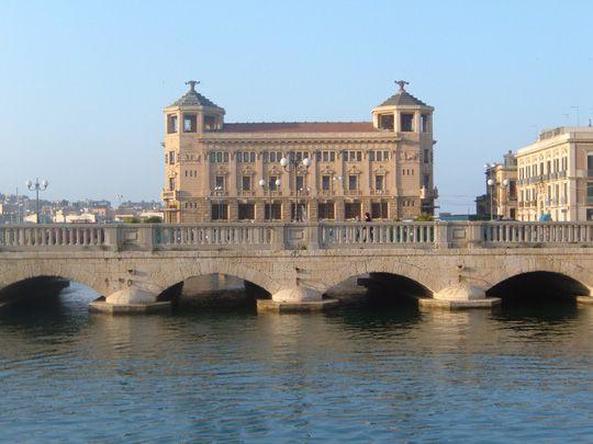 Ponte Umbertino - Syracuse - Ortigia