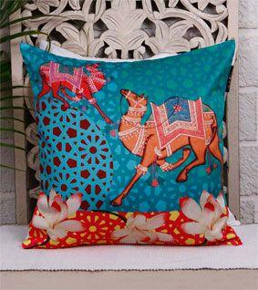 Multicoloured Cushion cover