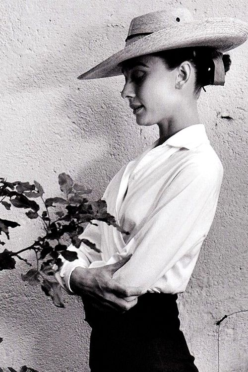 Audrey Hepburn during the filming of The Unforgiven in Durango, Mexico, 1959, by Inge Morath