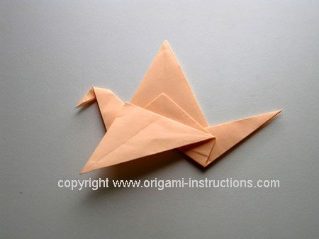Flying Bird origami