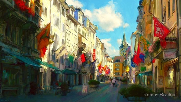 """Zurich"" Photographic Prints by Remus Brailoiu 