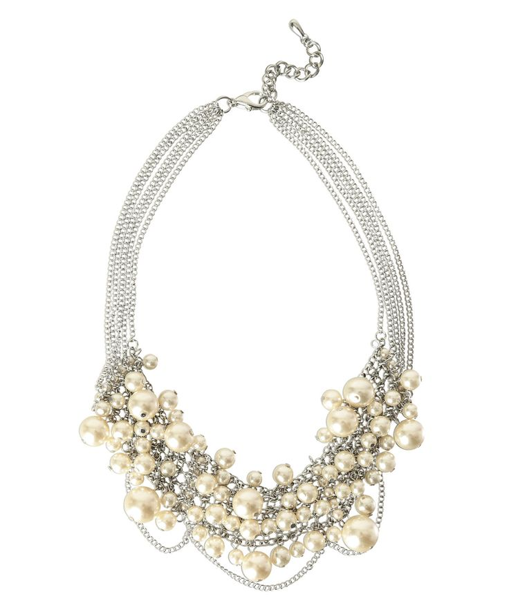 Ricki's: multi-pearl bib necklace — Visit Ricki's at Windsor Crossing: http://www.windsorcrossing.com/stores/rickis