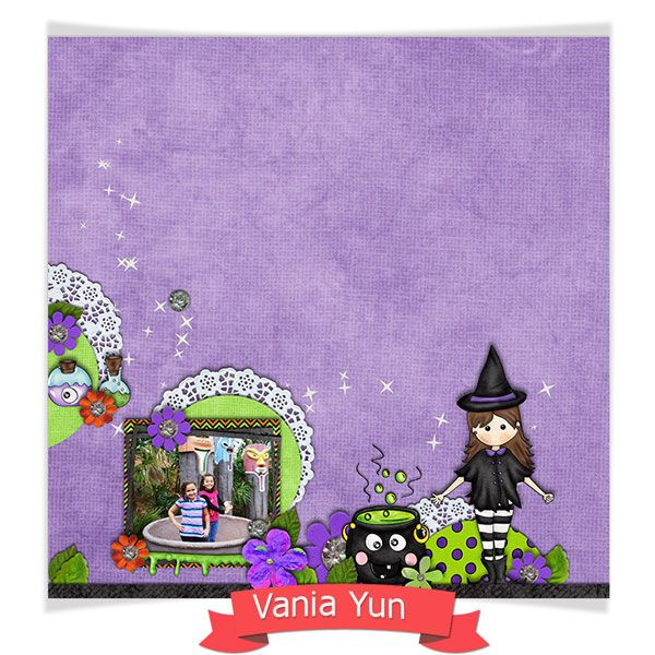 Kit - Bruxinha by Fa Maura   #famauradesigner #ctfamaura  http://famaura.com/shop/index.php?main_page=product_info&cPath=3&products_id=1640