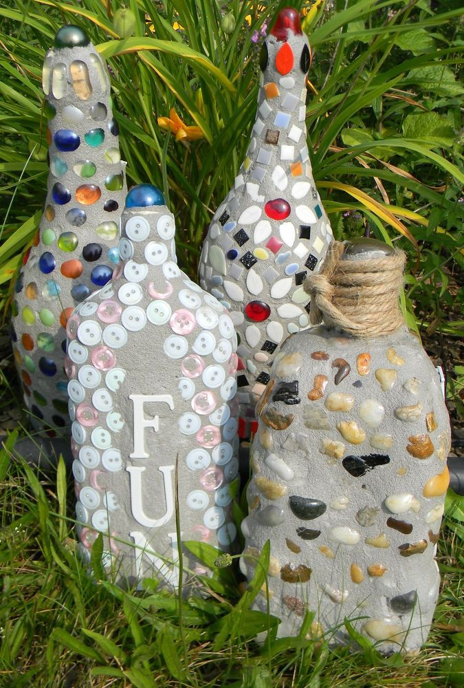 1000 images about grandma gifts from kids on pinterest for Garden ornaments from recycled materials