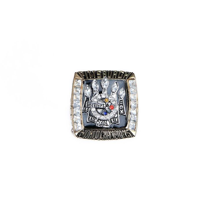 2005 PITTSBURGH STEELERS SUPER BOWL XL WORLD CHAMPIONSHIP RINGS