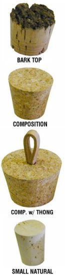Bailey Ceramic Supply - Misc. Supplies - Dispenser Pumps, Spigots, Corks & Stoppers