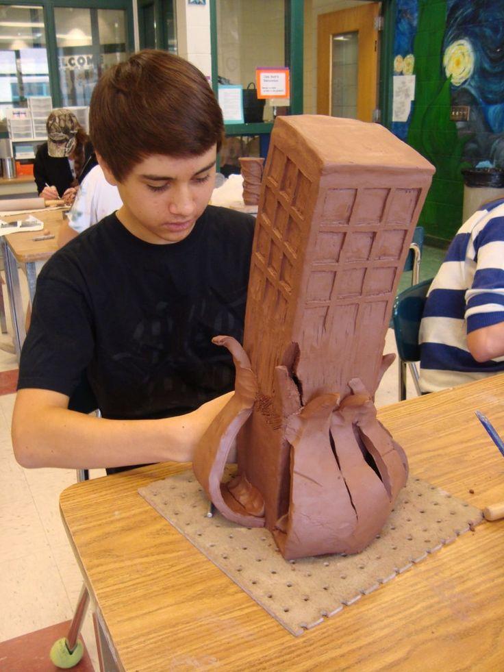 ceramic projects high school - 736×981