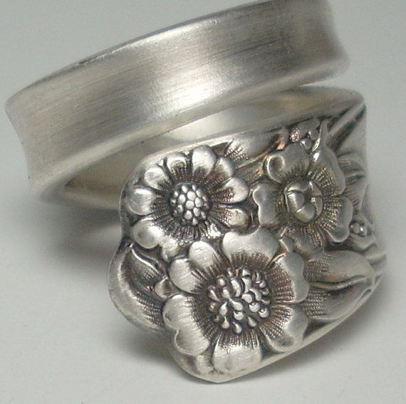 Sunflower Spoon Ring Spoon