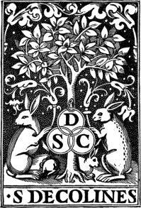 Simon de Colines between 1520 and 1527 printer's mark