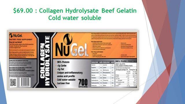 https://flic.kr/p/HtBkAN | Gelatin and Collagen Hydrolysate  - Cold water soluble - Gelatin Australia | Follow Us On : www.facebook.com/NuStrength   Follow Us On : instagram.com/nustrength4122   Follow Us On : www.youtube.com/channel/UCtqNJLaKonF43Va4Yv3zlDw