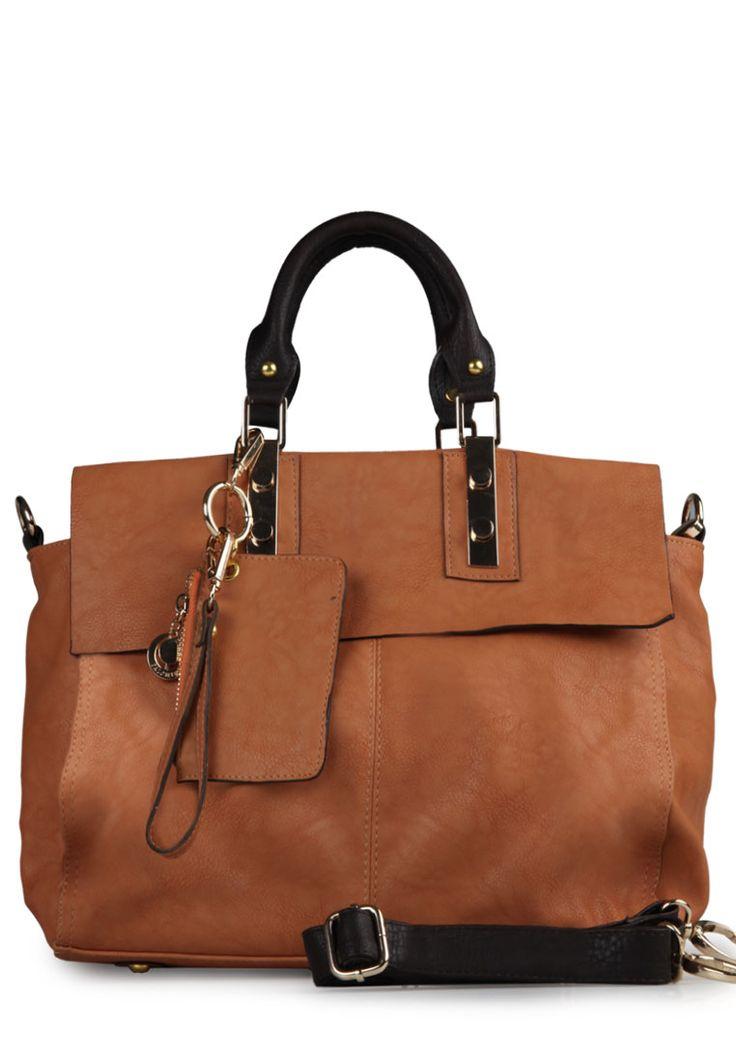 Mila leather tan/brown handbag