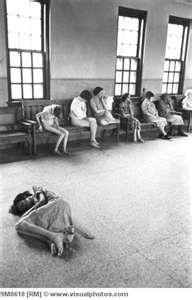 Female patients in Ohio Insane Asylum