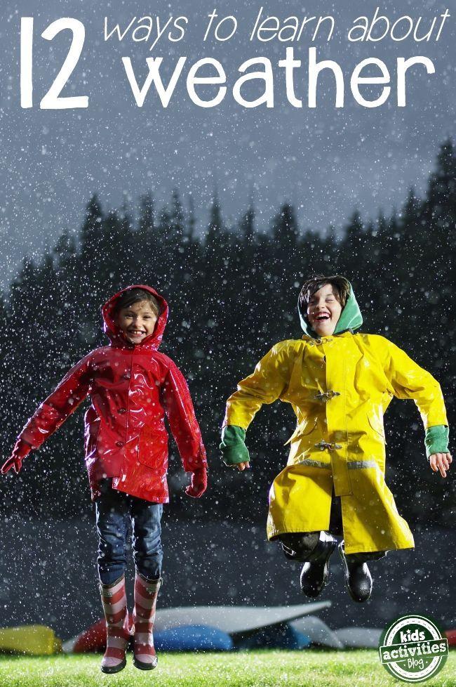 12 Hands-On Weather Activities for Kids - Kids Activities Blog