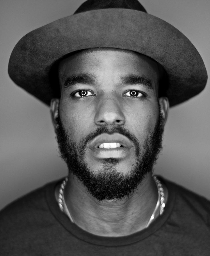 Luke James. heart him.