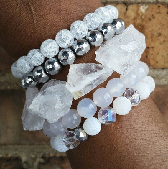 Hey, I found this really awesome Etsy listing at https://www.etsy.com/listing/219472076/ice-crystal-gemstone-rock-stackable