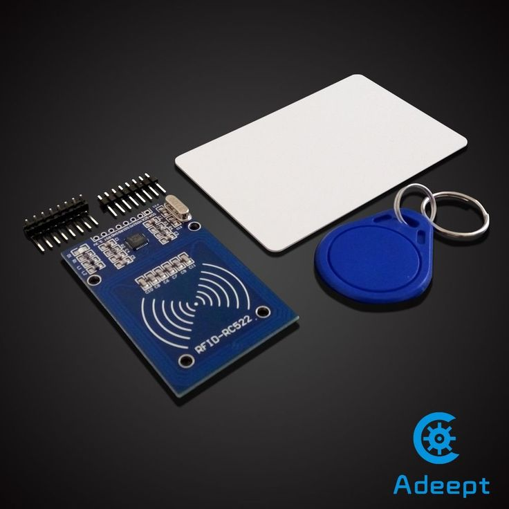 Adeept RC522 13.56Mhz RFID RF ID Card Reader Arduino Raspberry Pi SPI Interface #Adeept
