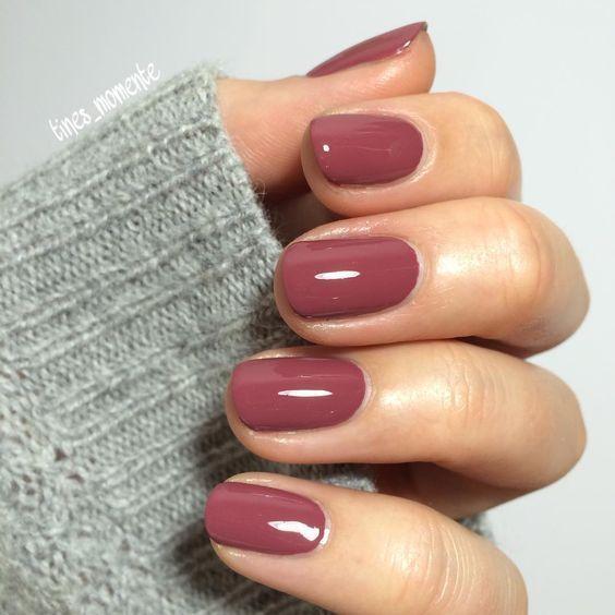 Bezaubernde und wunderschöne Nageldesigns für den Herbst 2018. Kurze Nägel. Stylische Nägel. #bezaubernde #herbst #kurze #nagel #nageldesigns #stylische #wunderschone