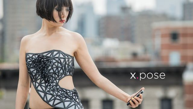 x.pose is a wearable data-driven sculpture that exposes a person's skin as a real-time reflection of the data that the wearer is producing. In the physical realm we can deliberately control which portions our bodies are exposed to the world by covering it with clothing. In the digital realm, we have much less control of what personal aspects we share with the services that connect us. In the digital realm we are naked and vulnerable.   https://www.behance.net/gallery/17256769/xpose  ITP ...
