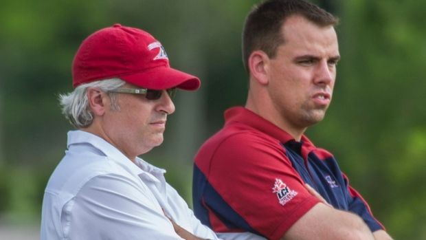 Popp and Abrams, Montreal Alouettes