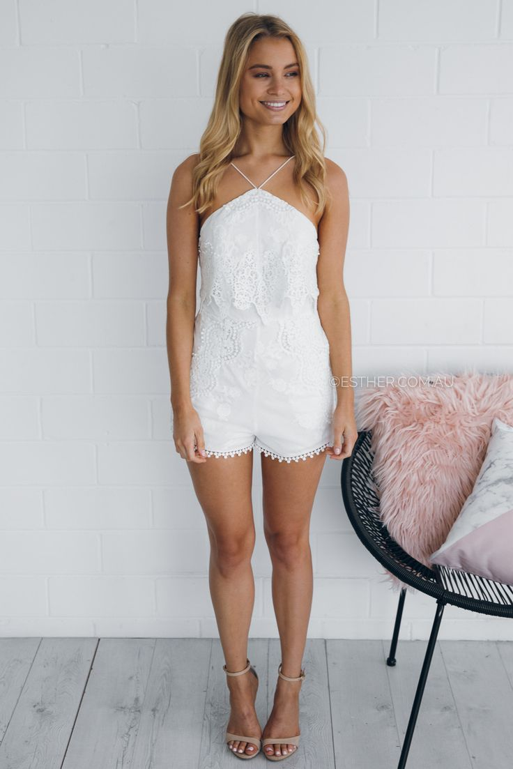 the jetset paradise romper - ivory | Esther clothing Australia and America USA, boutique online ladies fashion store, shop global womens wear worldwide, designer womenswear, prom dresses, skirts, jackets, leggings, tights, leather shoes, accessories, free shipping world wide. – Esther Boutique