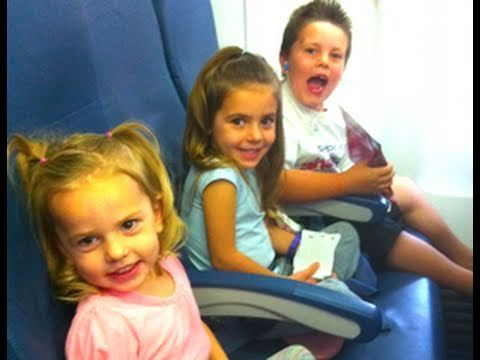 KIDS ON A PLANE!  Great for preparing children for first flight. Shows all of the steps. Loading bags in car, checking in, going through security, scanning boarding passes, finding seats, take off, snacks, waiting for luggage . . .