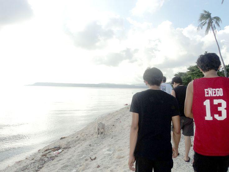 On our way to the sandbar of Higatangan Island