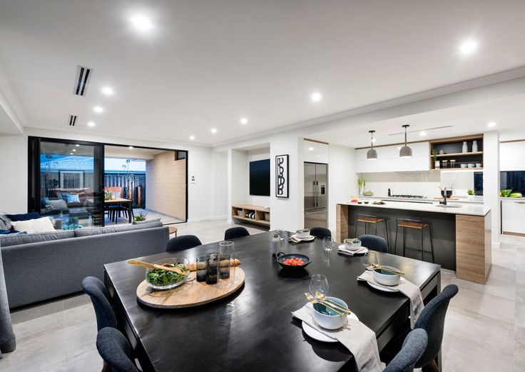Home Builders Australia | Kitchen | Dining | Display Home | New Homes | Interior Design | Furniture | Home Styling | Inspiration