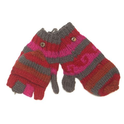 Wool Flip gloves