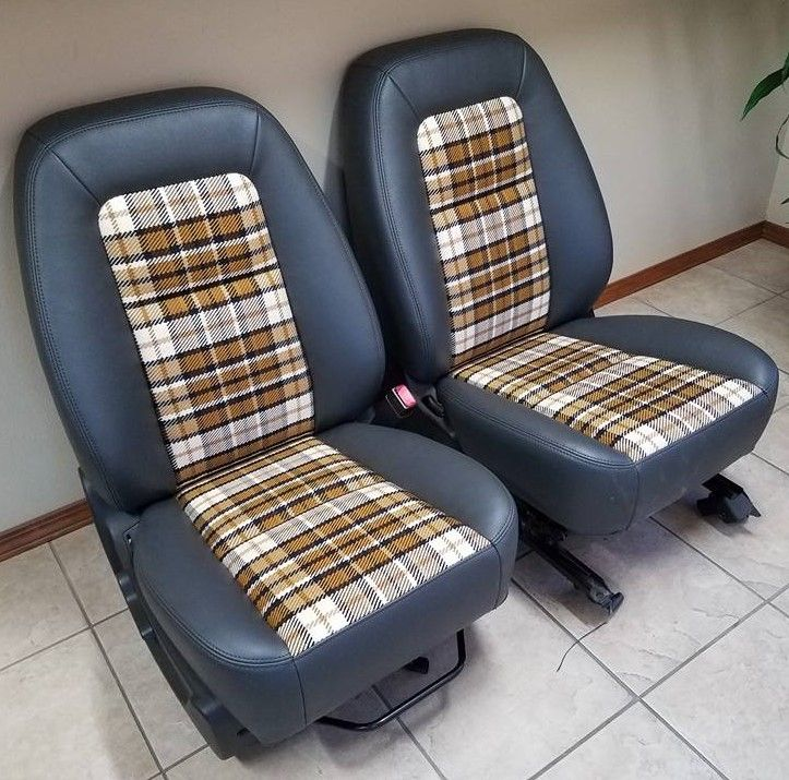 Fabric Car Seat Cleaner >> Beautiful upholstery work on the bucket seats for the K50 ...