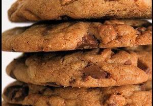 Sušenky 'Chocolate Chip Cookies' Recepty.cz - On-line kuchařka