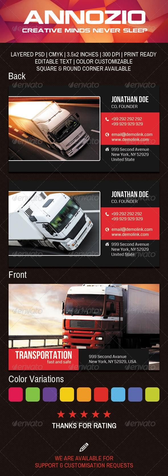 41 best transport business images on pinterest  business cards