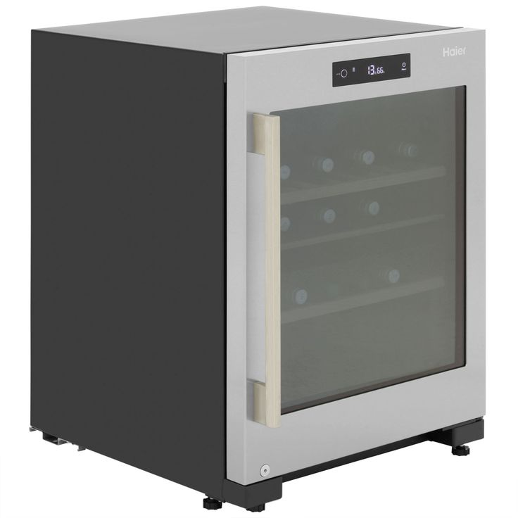 Haier Wine Cooler | WS50GDBI | 106 litre capacity| ao.com