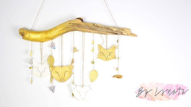 Diy de noel decoration en forme d 39 animaux avec du - Bricolage avec du plastique ...
