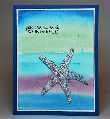 Stamping and other stuff: Watercooler Wednesday WWC55 - Jean's Colour Challenge