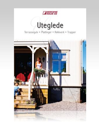 Brosjyren Uteglede om terrasser. #brosjyre #terrasse #rekkverk #trapp