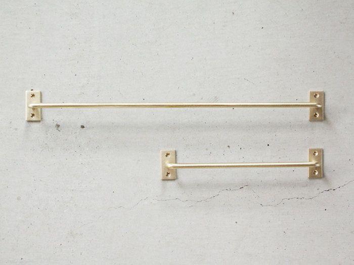 千葉工作所towelholderbrass-Miron真鍮タオルハンガーアイアン