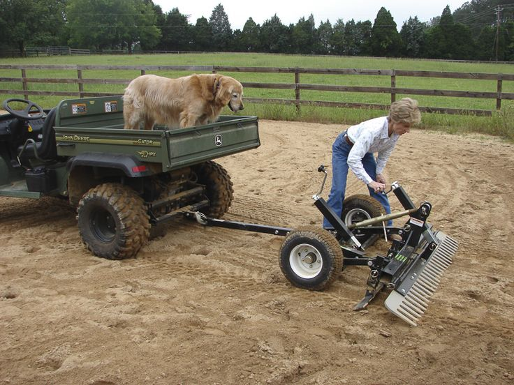 ATV Driveway Graders Gravel Rascal® Atv, Sub compact