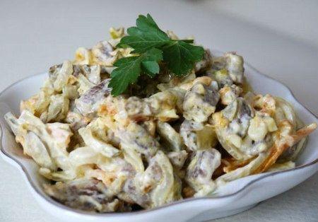 Салат тертый сыр майонез рецепт