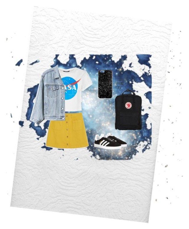 """""""Nasa"""" by mjsuchecka on Polyvore featuring WALL, Brewster Home Fashions, Monki, adidas Originals, Gap i Fjällräven"""