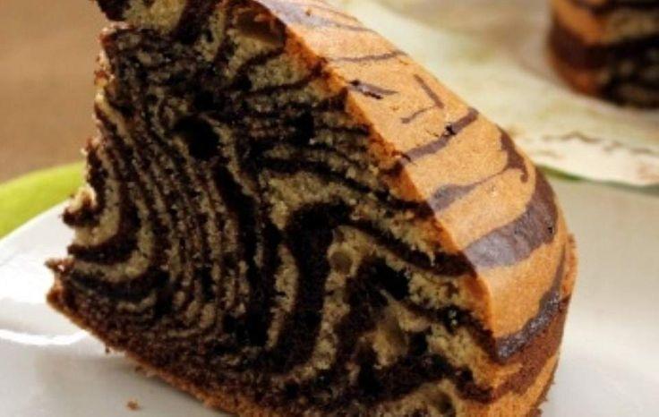 Κέικ ζέμπρα Με πραγματικές ρίγες!