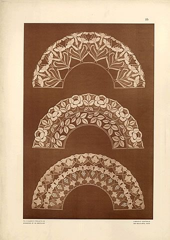 Felix Aubert 1903 Projects of laces and Embroidery
