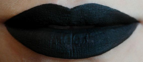Hey, I found this really awesome Etsy listing at https://www.etsy.com/listing/212658788/void-vegan-opaque-black-liquid-lipstick