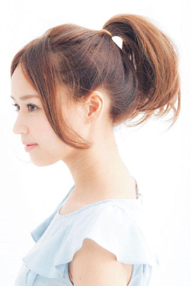 定番&人気なヘアスタイル!胸キュンゆるふわポニーテール☆髪型・カット・アレンジの参考に☆
