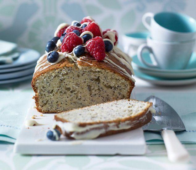 Yogurt & Poppy Seed Loaf Cake