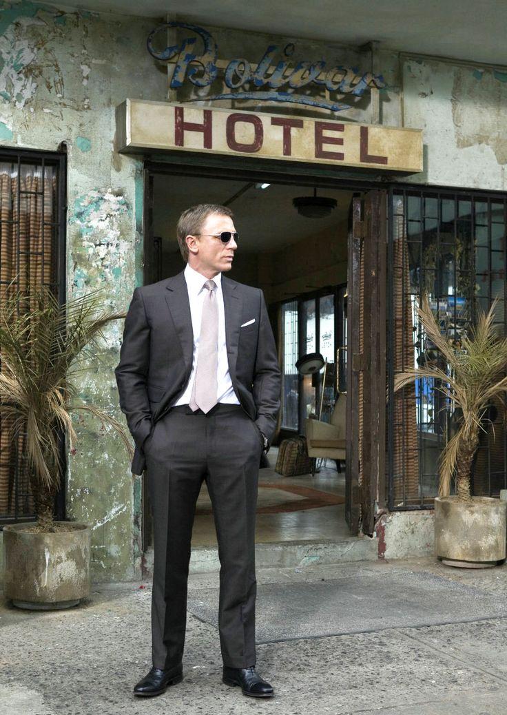 Daniel Craig, the best James Bond since Sean Connery...