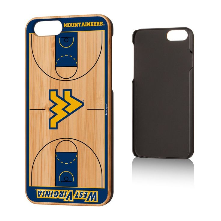 Make your iPhone 6 or 6S another way to show off your WVU Mountaineer pride with our WVU bamboo iPhone 6 and 6S case. Where ever you may be, everyone will know how much of a West Virginia Mountaineer fan you are when they see your phone shrouded the beautiful bamboo with the Flying WV.