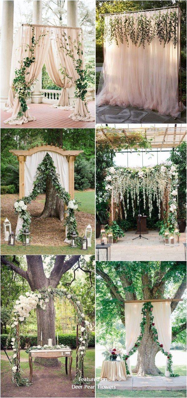 Grüne Eukalyptus rustikale Hochzeit Bogen Dekor Ideen #grün #Hochzeit #Hochzeitsidea …   – Wedding Arches