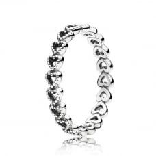 Openwork Linked Love Ring 190980