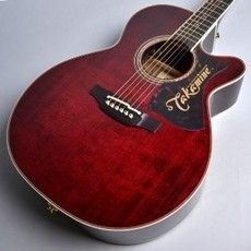 USEDTAKAMINE DMP50S Wine Red Acoustic Guitar Free Shipping
